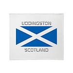 Uddingston Scotland Throw Blanket