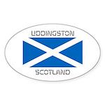 Uddingston Scotland Sticker (Oval 50 pk)