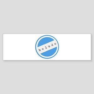 BOLUDO Argentina Sticker (Bumper)