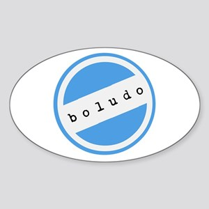 BOLUDO Argentina Sticker (Oval)
