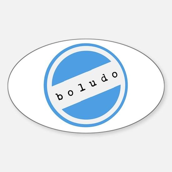 BOLUDO Argentina Sticker (Oval)