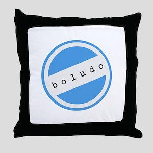 BOLUDO Argentina Throw Pillow