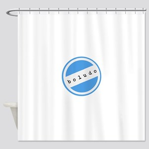 BOLUDO Argentina Shower Curtain