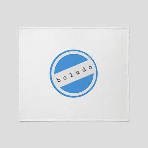 BOLUDO Argentina Throw Blanket
