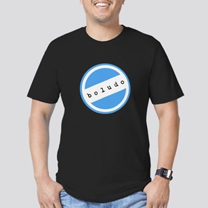 BOLUDO Argentina Men's Fitted T-Shirt (dark)