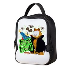 Garfield Show Trick or Treat Neoprene Lunch Bag