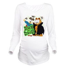 Garfield Show Trick or Treat Long Sleeve Maternity