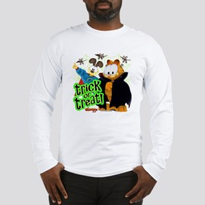 Garfield Show Trick or Treat Long Sleeve T-Shirt