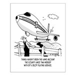 Crop Dusting and Airlines Small Poster