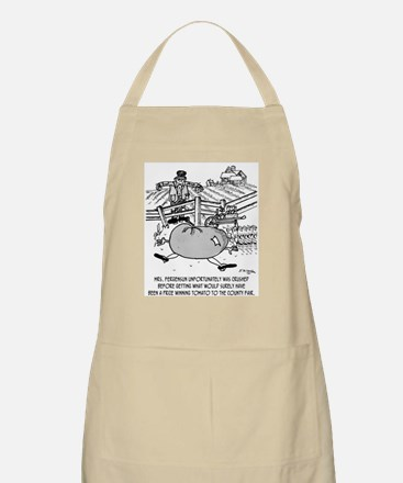Crushed by Prize Winning Tomato Apron