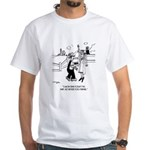 Crime & Farming Doesn't Pay White T-Shirt