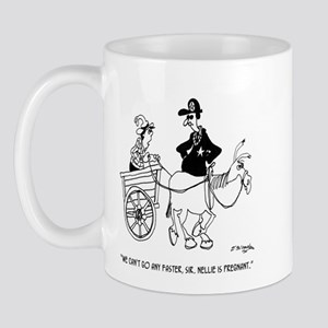 Pregnant Horse Can't Speed Mug