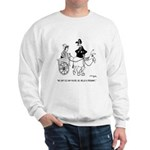 Pregnant Horse Can't Speed Sweatshirt