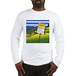 No Trespassing Long Sleeve T-Shirt