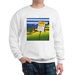 No Trespassing Sweatshirt