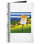No Trespassing Journal