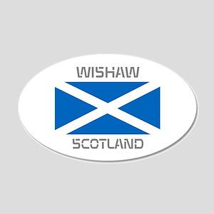 Wishaw Scotland 20x12 Oval Wall Decal