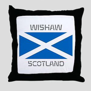 Wishaw Scotland Throw Pillow