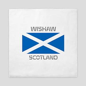 Wishaw Scotland Queen Duvet