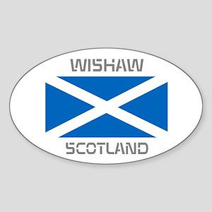 Wishaw Scotland Sticker (Oval)