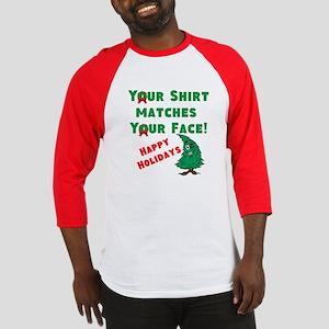 Shirt Matches Your Face Baseball Jersey