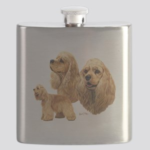Cocker Spaniel (American) Flask