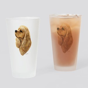 Cocker Spaniel (American) Drinking Glass