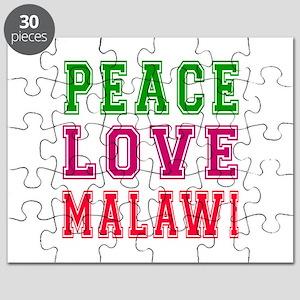 Peace Love Malawi Puzzle