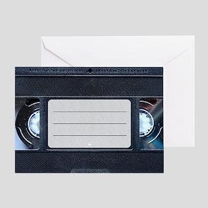 Retro VHS Tape Greeting Card