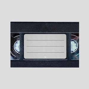 Retro VHS Tape Rectangle Magnet
