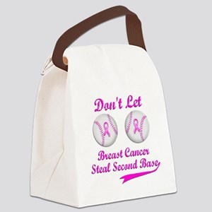 Second Base Canvas Lunch Bag