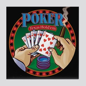 Poker Tile Coaster