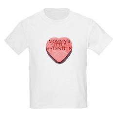 Valentine Candy Heart - Mommy Kids T-Shirt