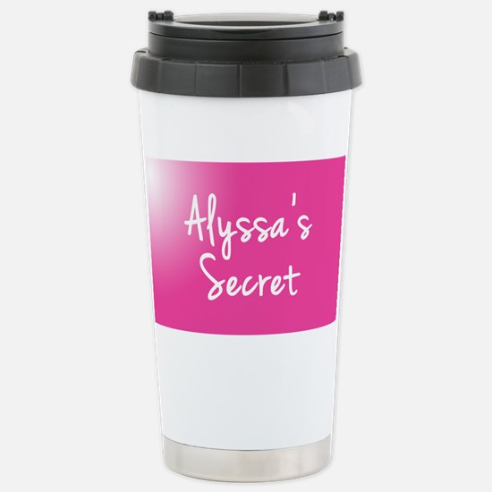 Alyssas Secret Travel Mug