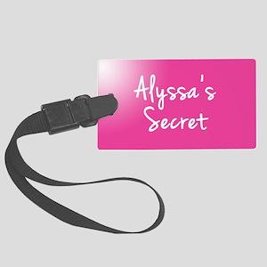 Alyssas Secret Luggage Tag