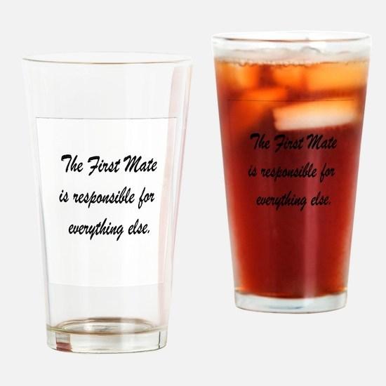 First Mate-Cruising Lealea Drinking Glass
