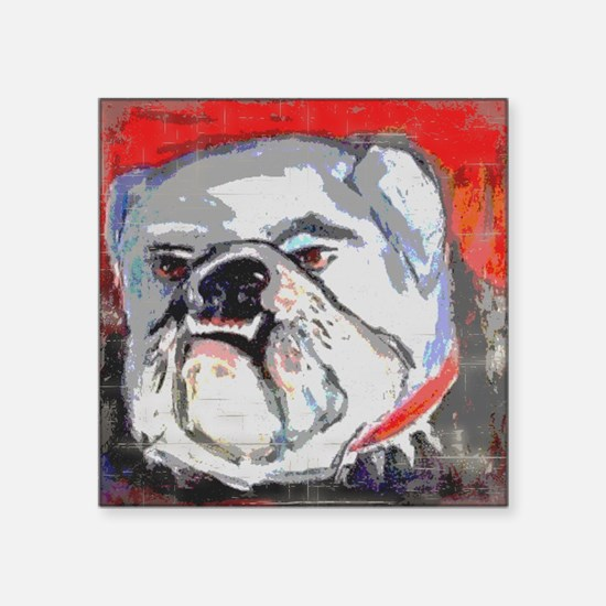 "DAWG Square Sticker 3"" x 3"""