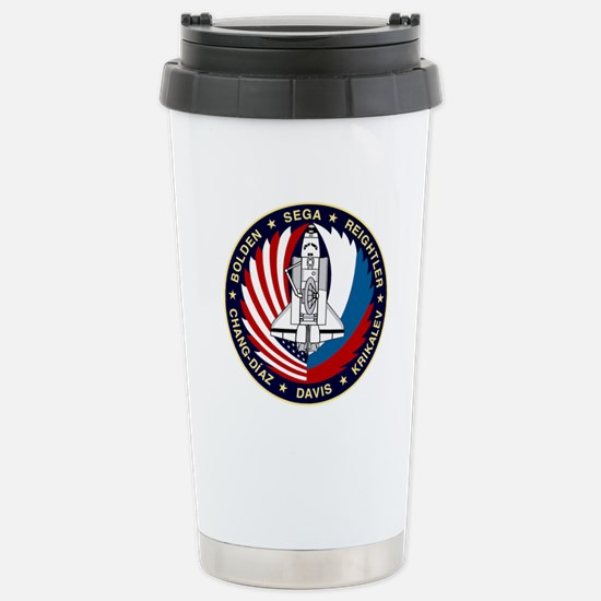 STS-60 Discovery Stainless Steel Travel Mug
