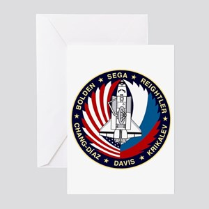 STS-60 Discovery Greeting Cards (Pk of 10)