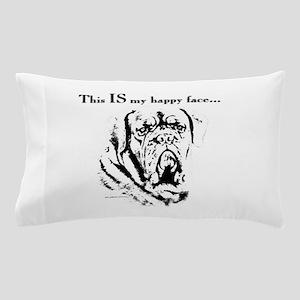 Dogue de Bordeaux Happy Face Pillow Case