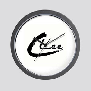C Lee Logo Wall Clock