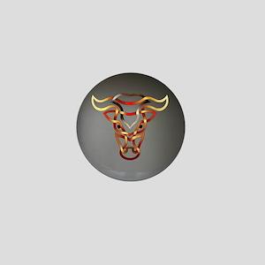 Bull Mini Button