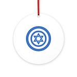Captain Israel Ornament (Round)