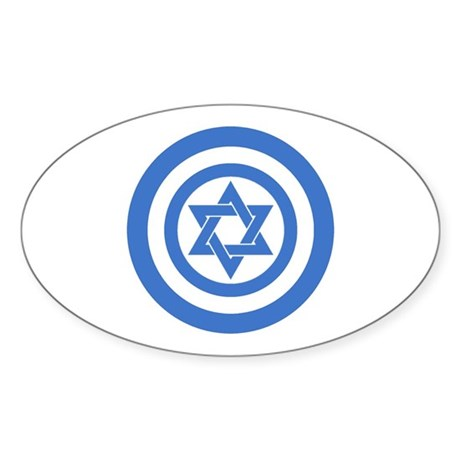 Captain Israel Sticker
