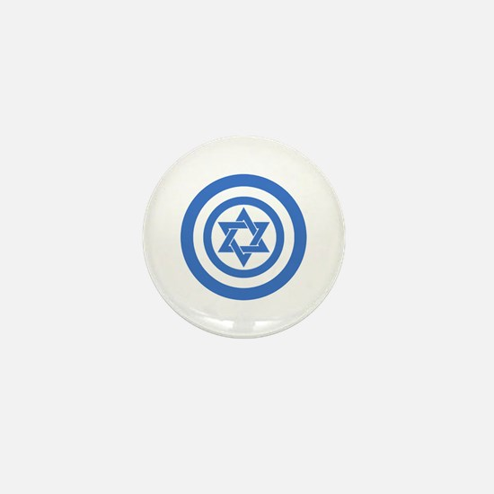 Captain Israel Mini Button