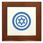 Captain Israel Framed Tile