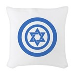 Captain Israel Woven Throw Pillow
