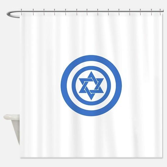 Captain Israel Shower Curtain