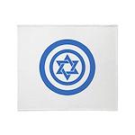 Captain Israel Throw Blanket