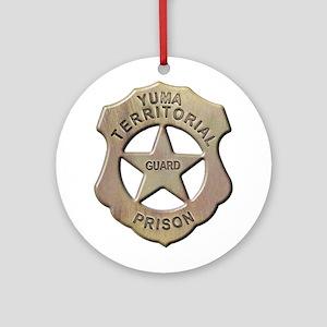 Yuma Territorial Prison Guard Ornament (Round)